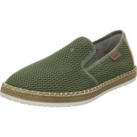 Topánky Muži Slip-on Rieker B527654 Zelená
