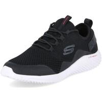 Topánky Muži Fitness Skechers Bounder Arkala Biela, Čierna