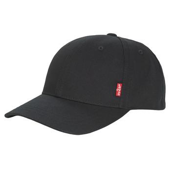 Textilné doplnky Muži Šiltovky Levi's CLASSIC TWILL REDL CAP Čierna