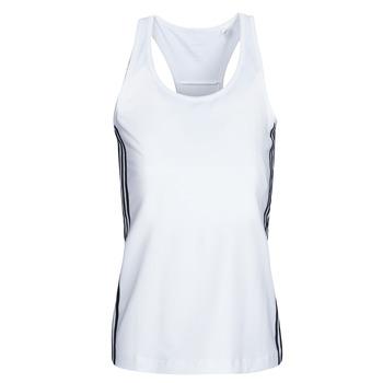 Oblečenie Ženy Tielka a tričká bez rukávov adidas Performance W D2M 3S TANK Biela