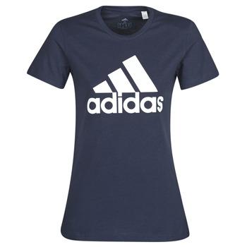 Oblečenie Ženy Tričká s krátkym rukávom adidas Performance W BOS CO TEE Modrá