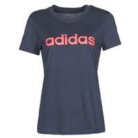 Oblečenie Ženy Tričká s krátkym rukávom adidas Performance W E LIN SLIM T Ink