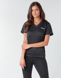 Oblečenie Ženy Tričká s krátkym rukávom adidas Performance W D2M SOLID T Čierna