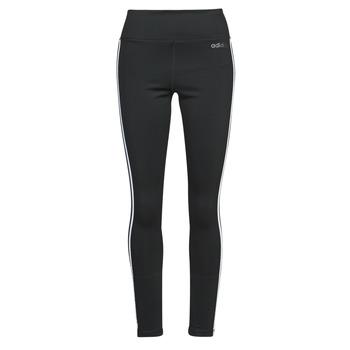 Oblečenie Ženy Legíny adidas Performance W D2M 3S HR LT Čierna
