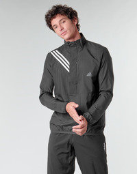 Oblečenie Muži Mikiny adidas Performance OWN THE RUN JKT Čierna