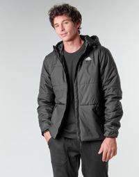 Oblečenie Muži Vyteplené bundy adidas Performance BSC HOOD INS J Čierna