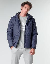 Oblečenie Muži Vyteplené bundy adidas Performance BSC HOOD INS J Ink