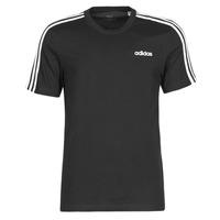 Oblečenie Muži Tričká s krátkym rukávom adidas Performance E 3S TEE Čierna