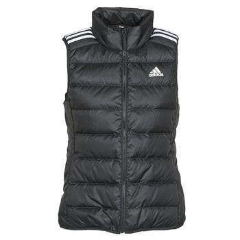 Oblečenie Ženy Vyteplené bundy adidas Performance W ESS DOWN VES Čierna