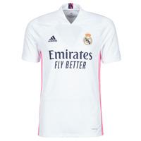 Oblečenie Tričká s krátkym rukávom adidas Performance REAL H JSY Biela