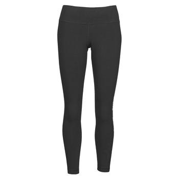 Oblečenie Ženy Legíny Reebok Classic TE LINEAR LOGO CT L Čierna