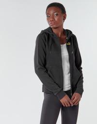 Oblečenie Ženy Vrchné bundy Puma METALLIC FZ HOODY TR Čierna / Zlatá