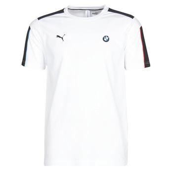 Oblečenie Muži Tričká s krátkym rukávom Puma BMW MMS MS T7 TEE Biela