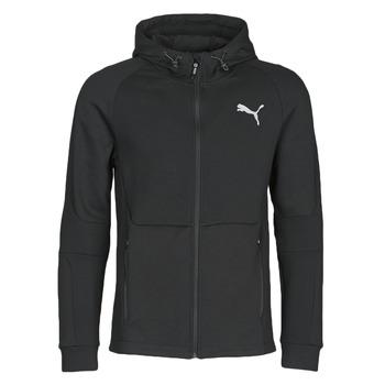 Oblečenie Muži Vrchné bundy Puma EVOSTRIPE FZ HOODY Čierna
