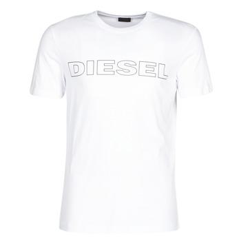 Oblečenie Muži Tričká s krátkym rukávom Diesel JAKE Biela