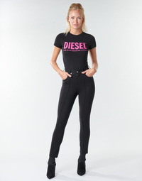 Oblečenie Ženy Nohavice päťvreckové Diesel P-CUPERY Čierna