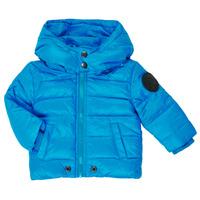 Oblečenie Chlapci Vyteplené bundy Diesel JSMITHYAWH Modrá