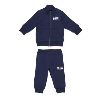 Oblečenie Chlapci Komplety a súpravy Diesel SONNY Modrá