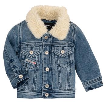 Oblečenie Deti Bundy  Diesel JESKI Modrá