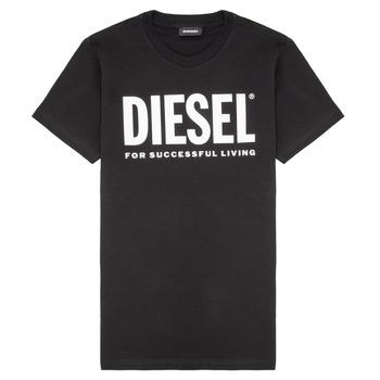 Oblečenie Deti Tričká s krátkym rukávom Diesel TJUSTLOGO Čierna