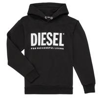 Oblečenie Chlapci Mikiny Diesel SDIVISION LOGO Čierna