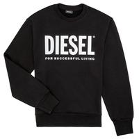 Oblečenie Chlapci Mikiny Diesel SCREWDIVISION LOGO Čierna