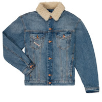 Oblečenie Chlapci Džínsové bundy Diesel JRESKY Modrá