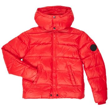 Oblečenie Chlapci Vyteplené bundy Diesel JSMITHYAWH Červená