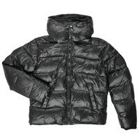 Oblečenie Chlapci Vyteplené bundy Diesel JSMITHYAWH Čierna