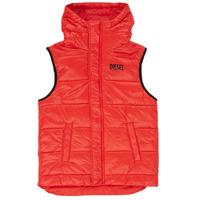 Oblečenie Chlapci Vyteplené bundy Diesel JSUNNY Červená