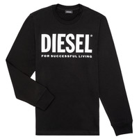 Oblečenie Chlapci Tričká s dlhým rukávom Diesel TJUSTLOGO ML Čierna