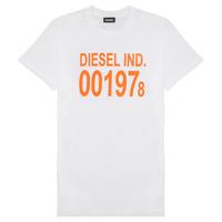 Oblečenie Deti Tričká s krátkym rukávom Diesel TDIEGO1978 Biela