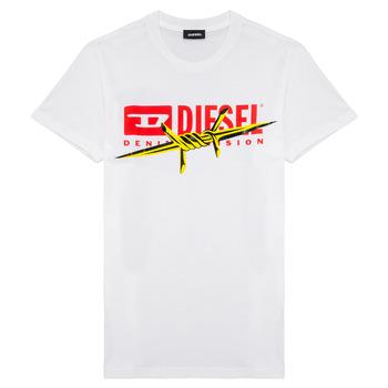 Oblečenie Chlapci Tričká s krátkym rukávom Diesel TDIEGOBX2 Biela