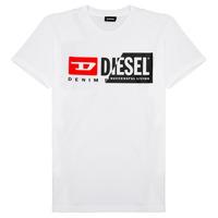 Oblečenie Deti Tričká s krátkym rukávom Diesel TDIEGOCUTY Biela