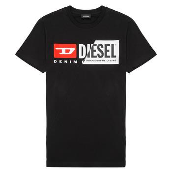 Oblečenie Deti Tričká s krátkym rukávom Diesel TDIEGOCUTY Čierna