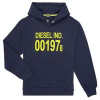 Oblečenie Deti Mikiny Diesel SGIRKHOOD Modrá