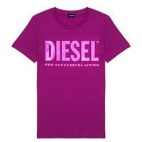Oblečenie Dievčatá Tričká s krátkym rukávom Diesel TSILYWX Ružová