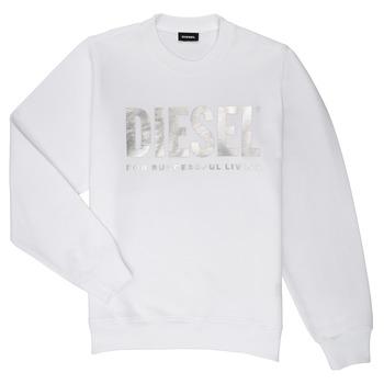 Oblečenie Dievčatá Mikiny Diesel SANGWX Biela