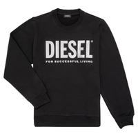 Oblečenie Dievčatá Mikiny Diesel SANGWX Čierna