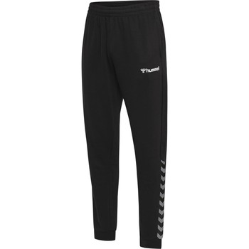 Oblečenie Muži Tepláky a vrchné oblečenie Hummel Pantalon  hmlAUTHENTIC noir/blanc