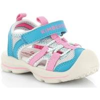 Topánky Dievčatá Sandále Kimberfeel SHIKI Turquoise