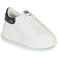 Topánky Ženy Nízke tenisky Ash MOBY STUDS Biela / Čierna