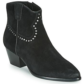 Topánky Ženy Čižmičky Ash HOUSTON BIS Čierna