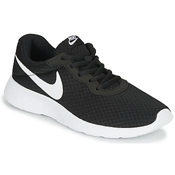 Topánky Ženy Nízke tenisky Nike TANJUN Čierna / Biela
