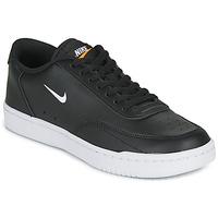 Topánky Ženy Nízke tenisky Nike COURT VINTAGE Čierna / Biela
