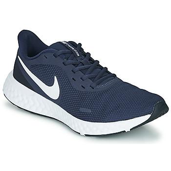 Topánky Muži Univerzálna športová obuv Nike REVOLUTION 5 Modrá