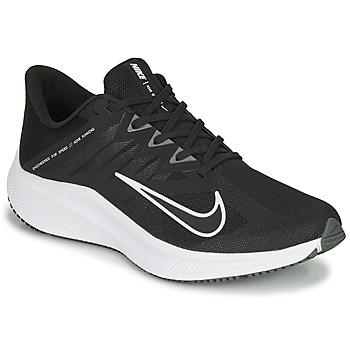 Topánky Muži Bežecká a trailová obuv Nike QUEST 3 Čierna / Biela