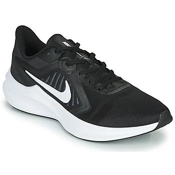 Topánky Muži Bežecká a trailová obuv Nike DOWNSHIFTER 10 Čierna / Biela