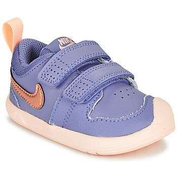 Topánky Dievčatá Nízke tenisky Nike PICO 5 TD Fialová  / Ružová
