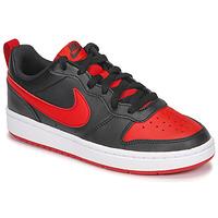 Topánky Deti Nízke tenisky Nike COURT BOROUGH LOW 2 GS Čierna / Červená